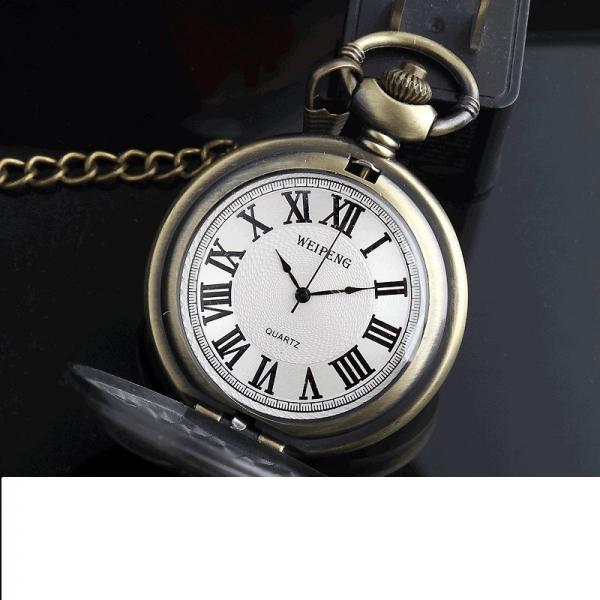 Vreckové hodinky pre poľovníka De Lux