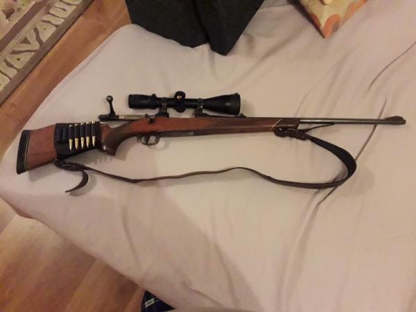 Predám guľovnicu 30-06, Springfield s puškohľadom Fomei 2,5-10x50