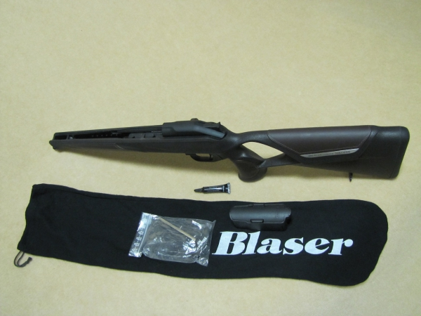 Blaser R8 Success Leather Stock