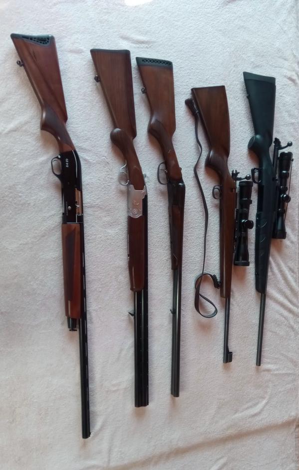 Predám svoje zbrane, ako nové (Kúpa všetkých-znížim cenu)