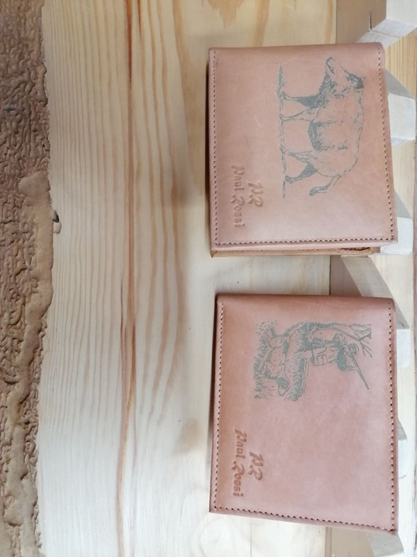 Predám nové kožené poľovnícke peňaženky