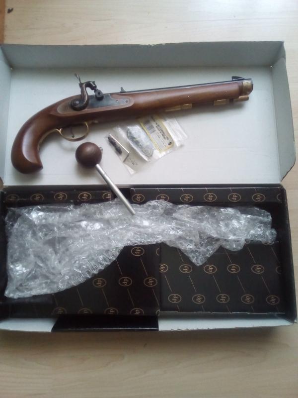 perkusna pistol Kentucky