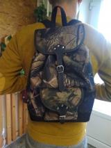 Predám nový poľovnícky ruksak - malý/potlač