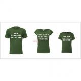 Rodinný poľovnícky set kvalitných tričiek.