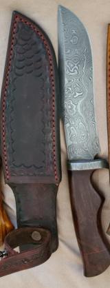 Ručne vyrobené nože